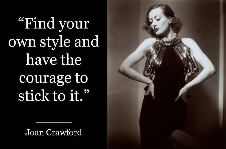 Joan Crawford #quote