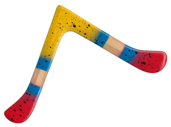 """Little Vee II - Sowohl ein sehr guter und einfach zu handhabender Einsteigerbumerang, als auch ein sehr guter Bumerang für die Wettkampfdisziplin """"Endurance"""""""