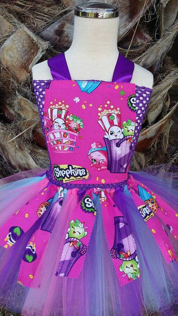 Shopkins tutu dress Shopkins tutu tutu dress by LelysBows on Etsy