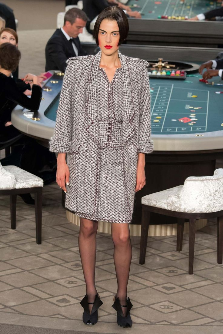Chanel Fall 2015 Couture Fashion Show - Ally Ertel