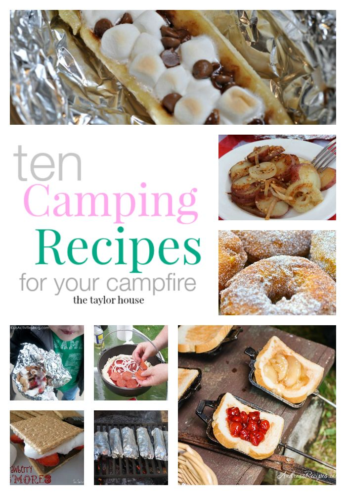 10 Must-Have Campfire Recipes for Your Camping Trip - makes us want to grab a tent and hit the trail! #adventures #LivingTheBabiatorsLife