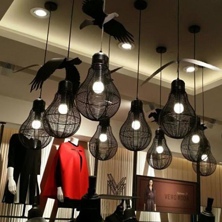 Modern Luxurious Aluminium Wire Ball Indoor Light Chandelier Pendant Lamp Fixtures 1Head Lights  - ICON2 Luxury Designer Fixures  Modern #Luxurious #Aluminium #Wire #Ball #Indoor #Light #Chandelier #Pendant #Lamp #Fixtures #1Head #Lights #