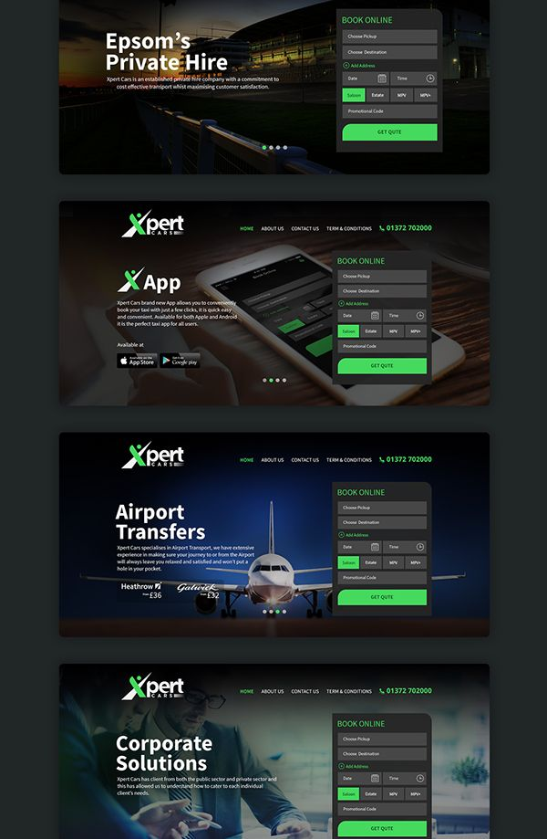 Xpert Cars_UK on Web Design Served