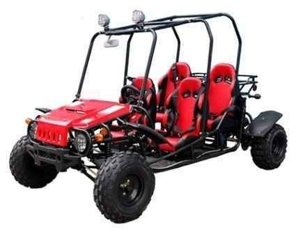 Check out this New 2015 Taotao Brand New 150cc GTK4150 4 Seater Wrangler Go Kart ATVs For Sale in Illinois, Frankfort, IL 60423 on atvtrades.com. It is a Dune Buggy All Dune Buggy and is for sale at $1,650. Last update at 2017-10-21