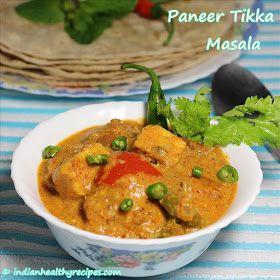 Swasthi's Recipes, Indian Food Blog on Vegetarian and Non-Vegetarian Recipes: Paneer Tikka Masala Recipe (Sanjeev Kapoor)