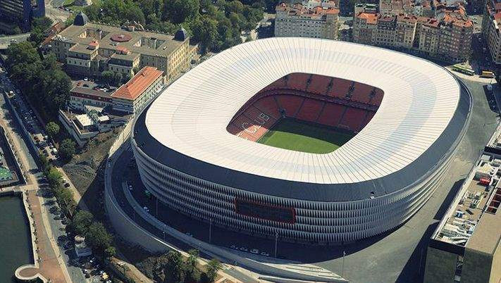 Athletic Bilbao FC San Mames Stadium Capacity: 53.289