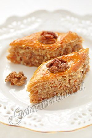 Recipe: Honey Baklava