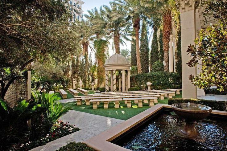 Beautiful! The Venus Garden at Caesars Palace