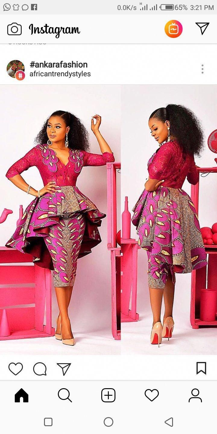 f7001b54 Ankara 3yards style – Naijababe #LatestAfricanWear | Fashion ...