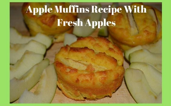 I've made some new muffins and wanted to share my recipe with you. I am