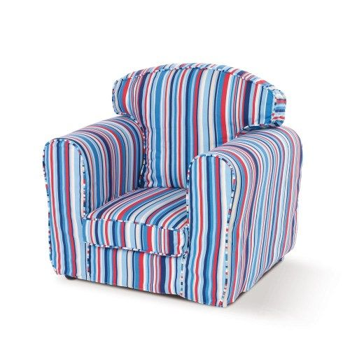 Just4Kidz Loose Cover Armchair - sky stripehttp://furniture123.co.uk/fun4kidz-loose-cover-armchair-sky-stripe_12789