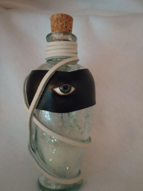 Potion Bottle With Powdered Unicorn Horn Larp Halloween