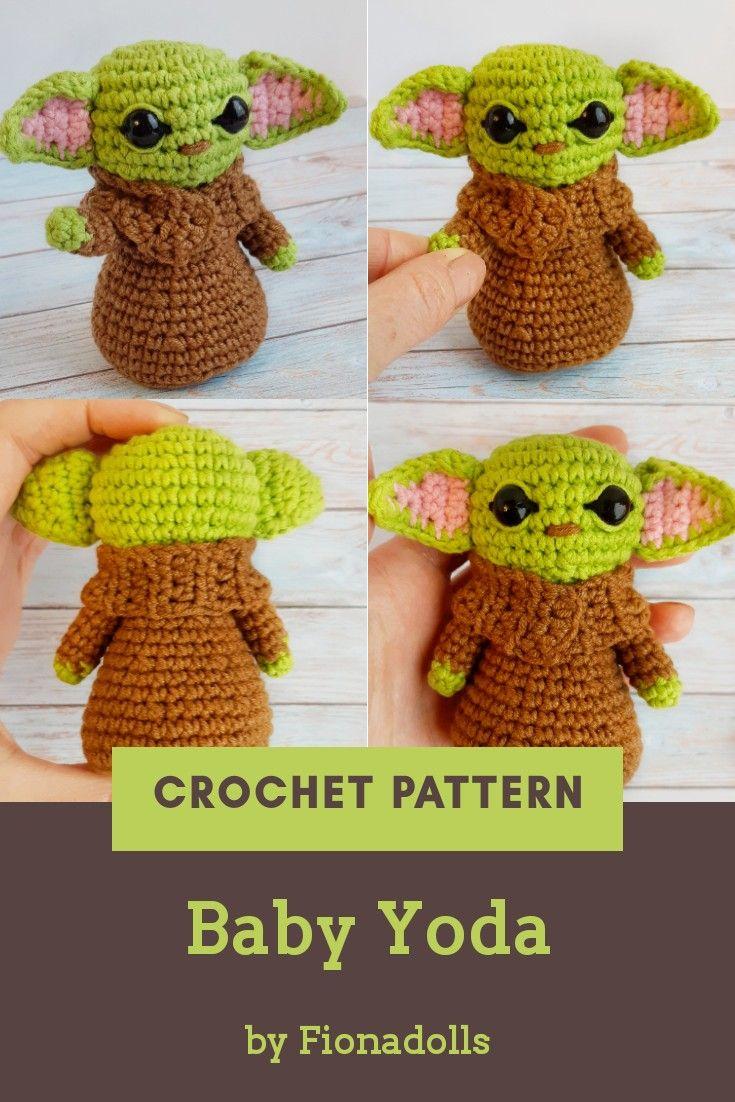 LucyRavenscar - Crochet Creatures: Star Wars Mini Amigurumi | 1102x735