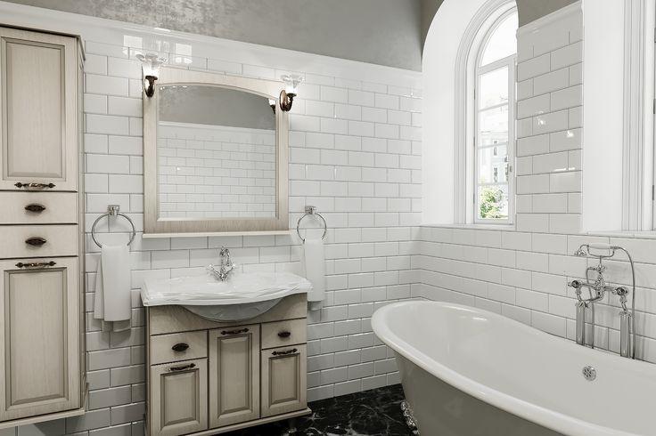 ванная комната в гостевом загородном доме