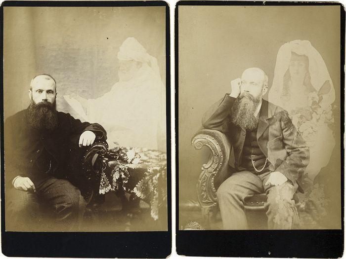 Аукцион «Взгляд нации» («The Vernacular Eye»): фотографии с привидениями начала XX века.. (6 фото)