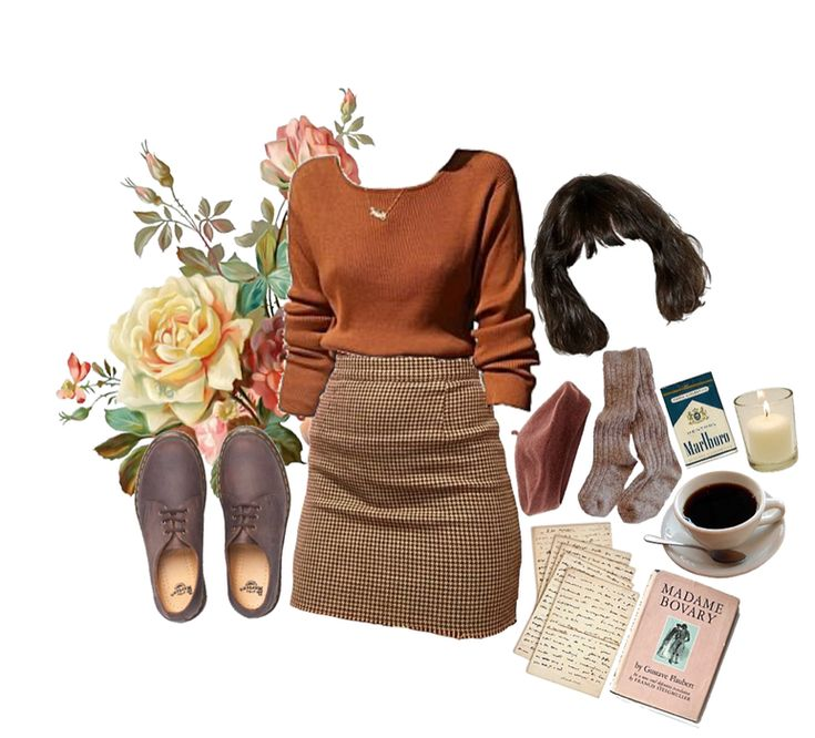 outfit academia dark shoplook outfits io romantic inspired aesthetics