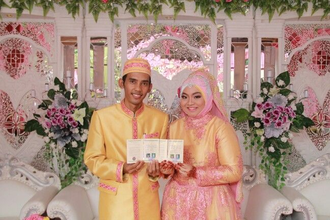 "After the akad. We have a book called "" buku nikah "". It was like a paper that describe we already married."