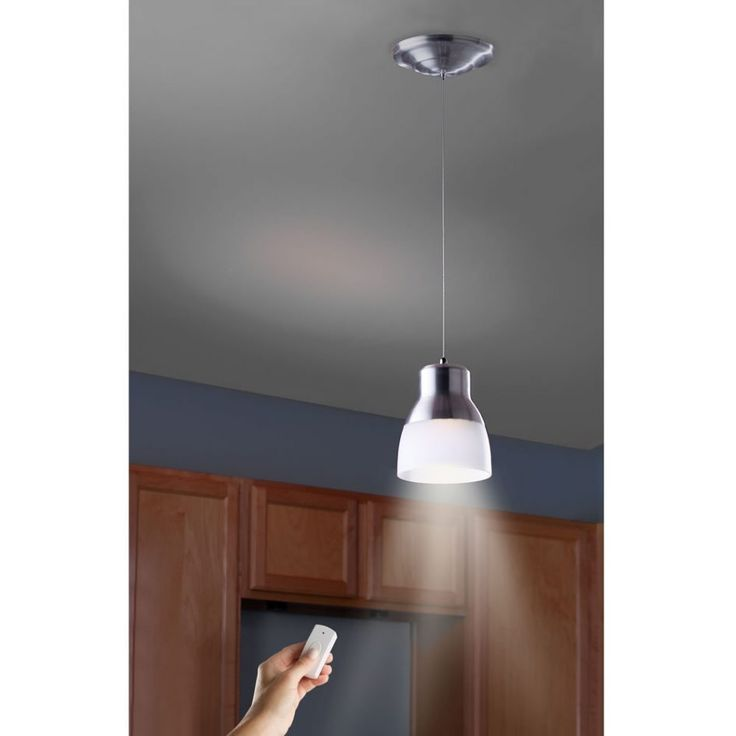 Battery Powered Ceiling Light With Switch