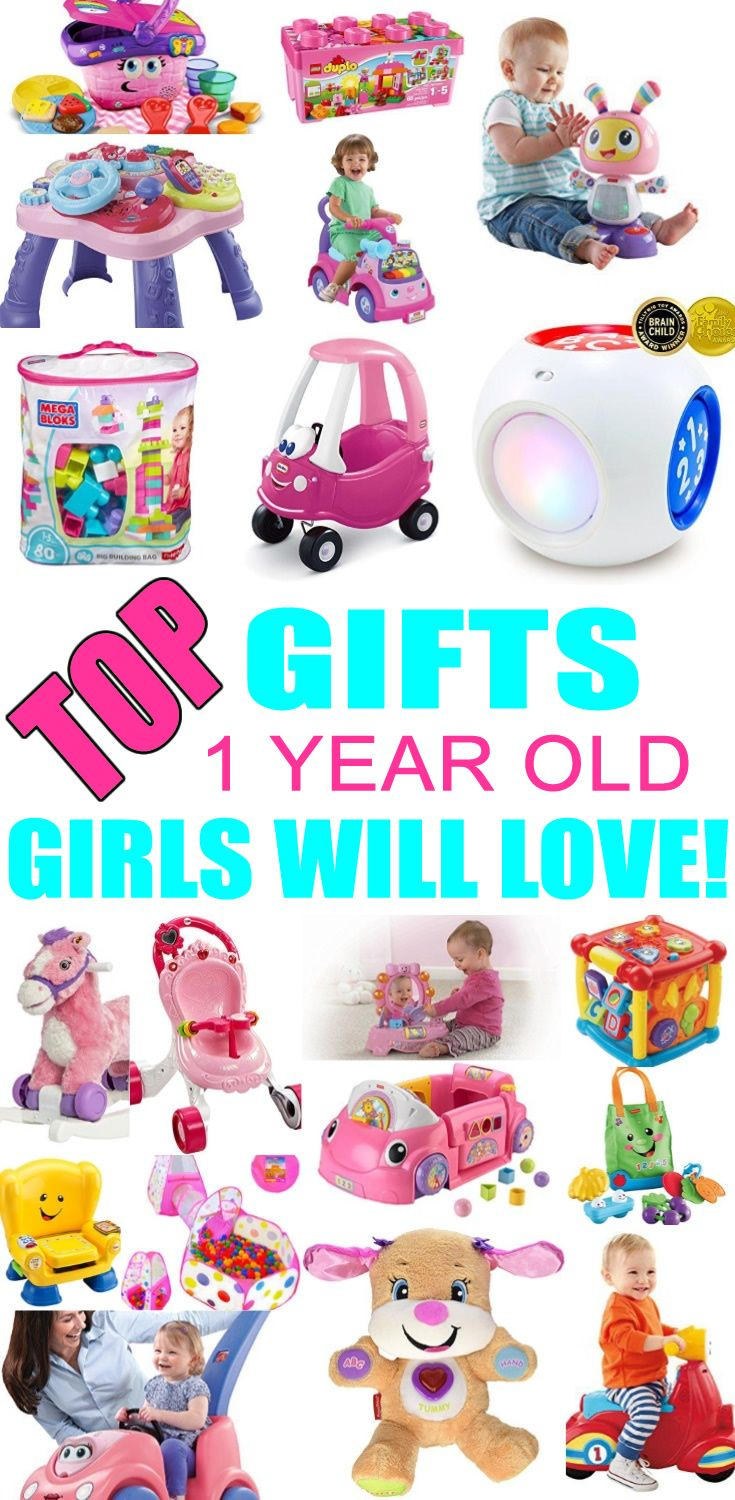 Top Gifts For 1 Year Old Girls Best Gift Suggestions Presents First Birthday Or Christmas Find The Toys A 1st Years
