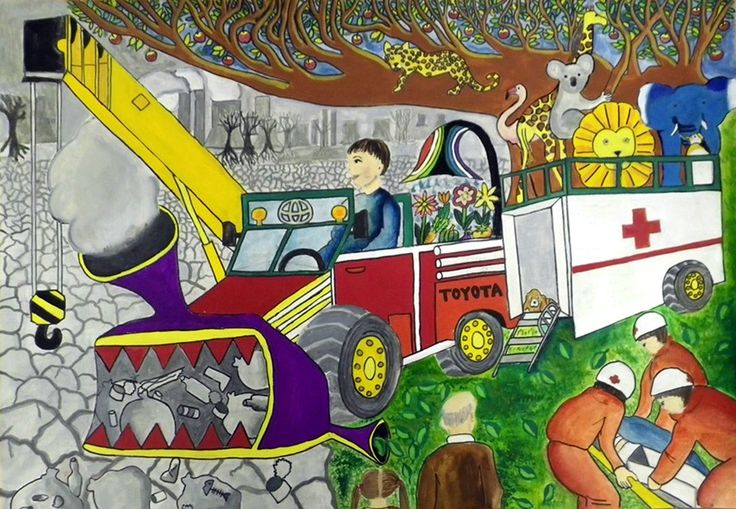 Environment Cleaning Car - Yuki Sasaki | Toyota Dream Car Art Contest