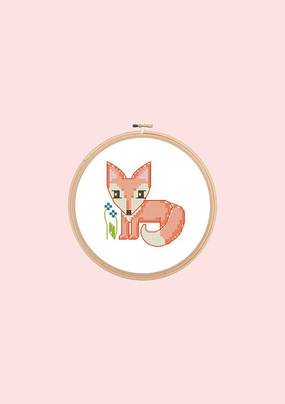 cross stitch pattern x-stitch kid's embroidery baby