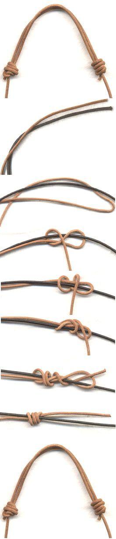 Как завязать скользящий узел для ювелирных изделий