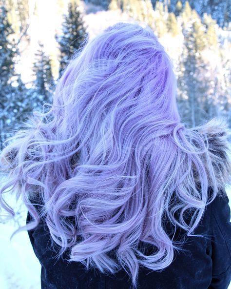 Lavendar hair kamillemonson.com