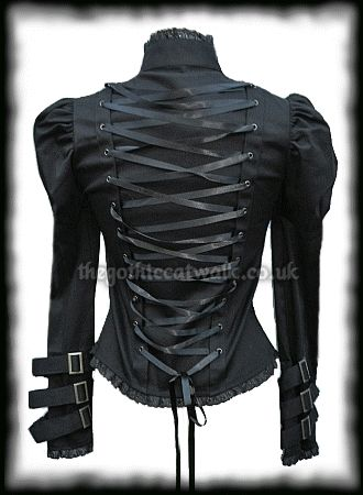 Spin Doctor Steampunk Corset Jacket Top