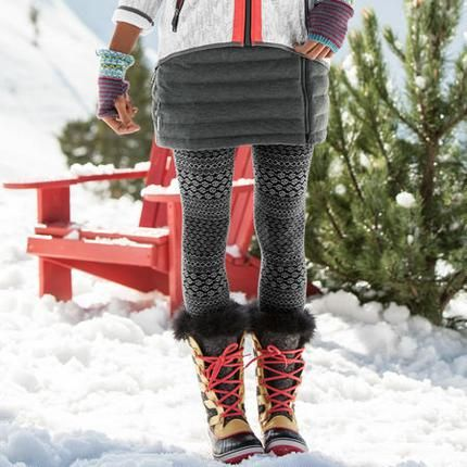 STEPHANIE 2 SKIRT @  Sundance...would love with all my tights and Sorel boots!