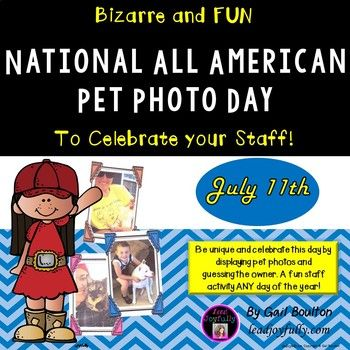 Display all the pet photos and try to guess the owner. Fun staff activity ANY day of the year! INCLUDED IN THIS FILE: (27 pages) *Instructions to the Activity Leader * 2 pages of frames (2 on a page) blue, red, black, and white *1-page Pocket folders (3 on a page) with Who is my owner *1-page