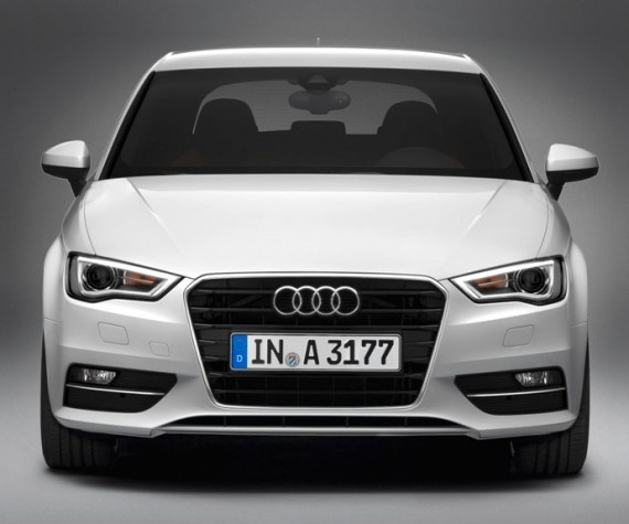 The new Audi A3 2013 ...