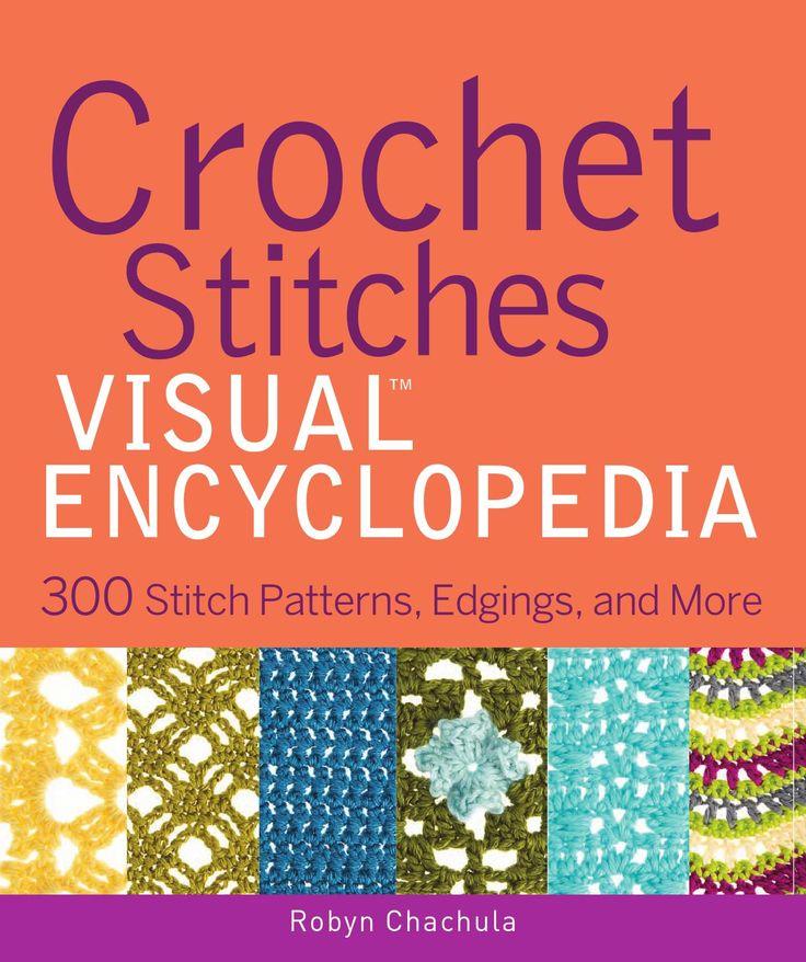 **Crochet sitches book!!!!** ༺✿Teresa Restegui http://www.pinterest.com/teretegui/✿༻