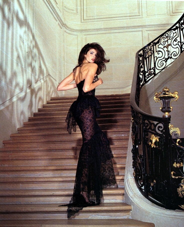 Stephanie Seymour in Chanel