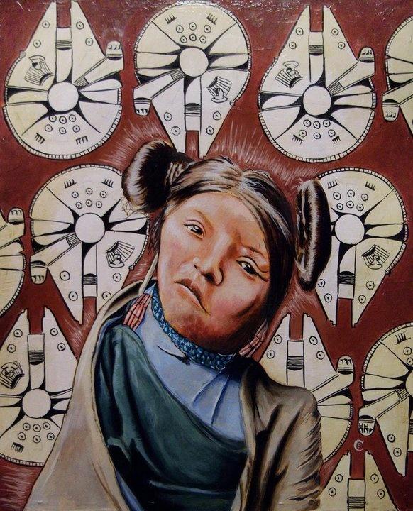 chris pappan artwork, name?