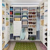 DIY.. Super-smart organized closet!