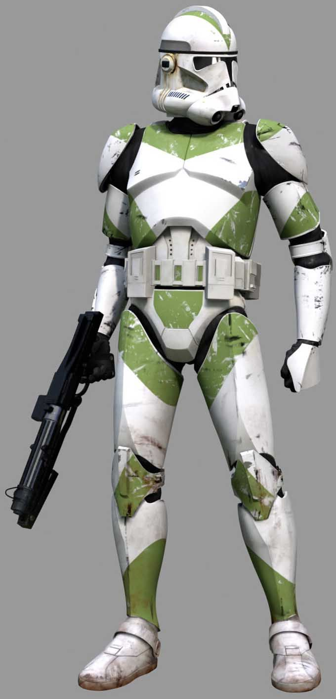 Green Special Ops Trooper