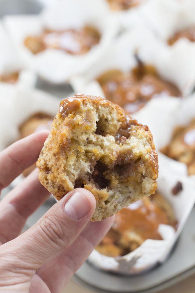Objetivo: Cupcake Perfecto.: Muffins de plátano y caramelo