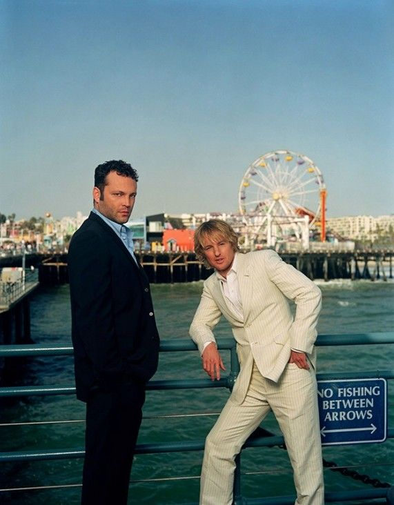 Vince Vaughn and Owen Wilson. Love them so much.