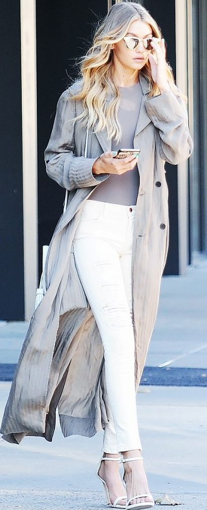 Who What Wear - Gigi Hadid - Grey Long Silk Coat Celebrity Style Inspo  # #Fall Trends #Fashionistas #Best Of Fall Apparel #Who What Wear - #celebrity Style Inspo Grey Long Silk Coat #Grey Long Silk Coat celebrity Style Inspo Who What Wear - #Grey Long Silk Coat celebrity Style Inspo Gigi Hadid - #Grey Long Silk Coat celebrity Style Inspo Must-Have #Grey Long Silk Coat celebrity Style Inspo November 2015 #Grey Long Silk Coat celebrity Style Inspo How To Dress Up #Grey Long Silk Coat…