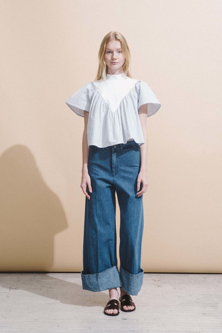 Sea Resort 2017 Collection Photos - Vogue denim jeans