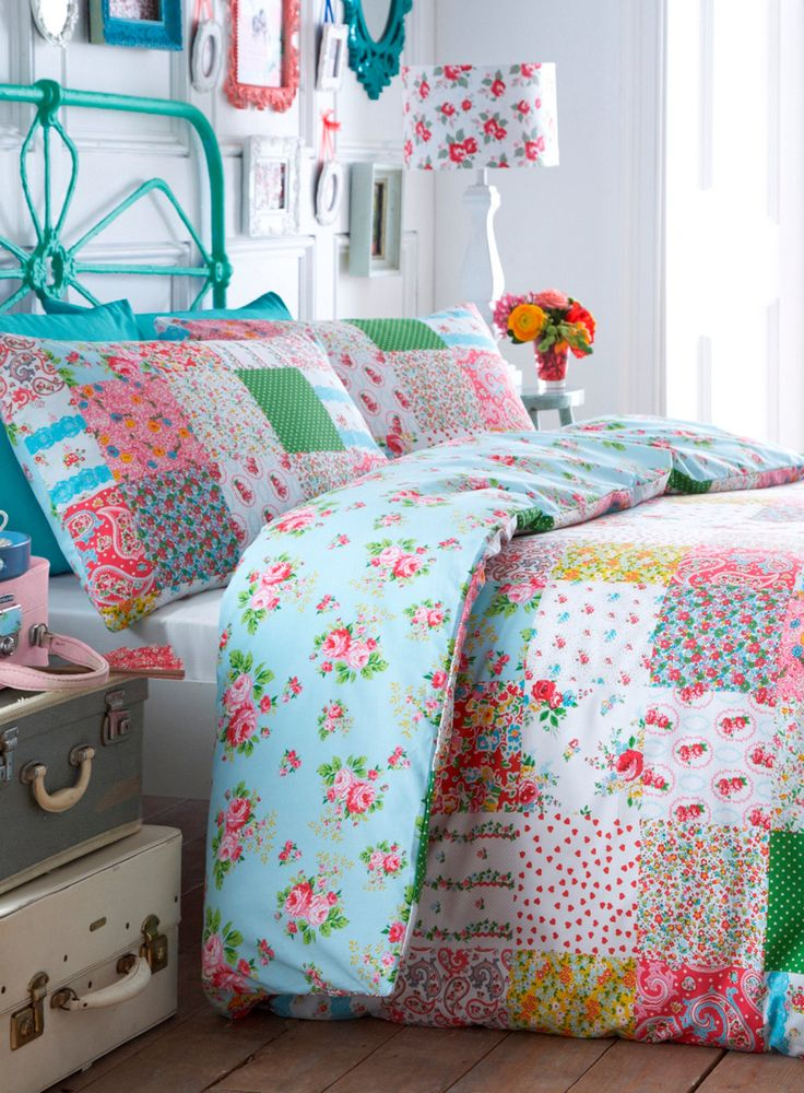 Bright Kitsch Printed Bedding Set for chloe