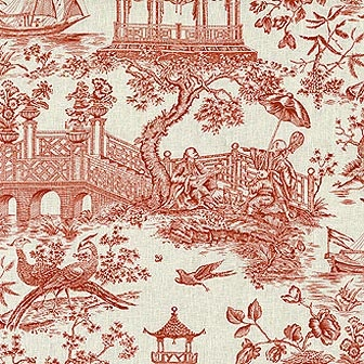 68 Best Images About Toile Amp Chinoiserie Fabic On