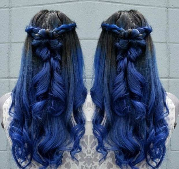 29 Blue Hair Color Ideas for Daring Women   Page 3 of 3   StayGlam