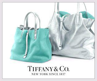 Tiffany's little blue box is now a big blue bag.