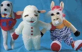 Lamb Chop Puppet Gift Set..
