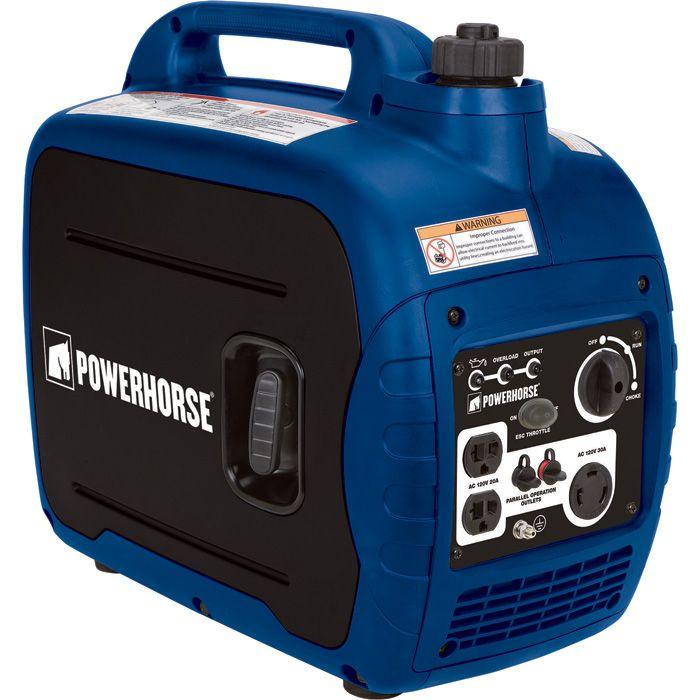 FREE SHIPPING — Powerhorse Portable Inverter Generator — 2000 Surge Watts, 1600 Rated Watts, CARB Compliant   Inverter Generators  Northern Tool + Equipment