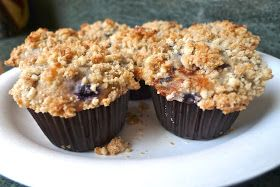 Seriously delicious: Bisquick Blueberry Muffins with Crumb Topping