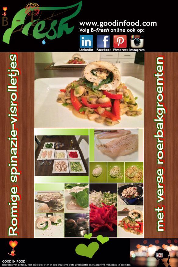 https://www.facebook.com/events/1587766021436056/?ref=3&ref_newsfeed_story_type=regular  KOM JIJ OOK? #HighTea #kookworkshop #gezond   RECEPT: Romige spinazie-visrolletjes met verse roerbakgroenten. Lees de volledige receptbeschrijving op: http://goodinfood.com/2015/02/27/romige-spinazie-visrolletjes-met-verse-roerbakgroenten