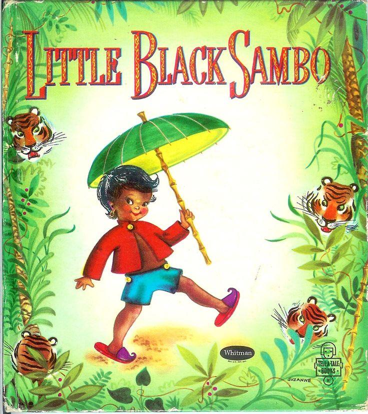 Little Black Sambo 1950 Childrens picture read to me book ... |Little Boy Sambo