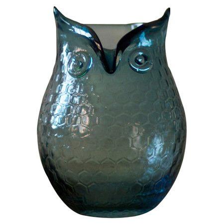 Medium Hibou Owl Vase